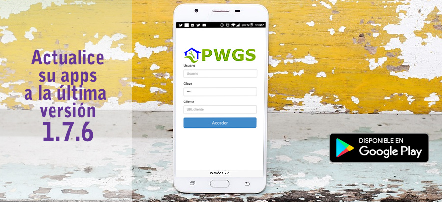 PWGS 1.7.6 Android