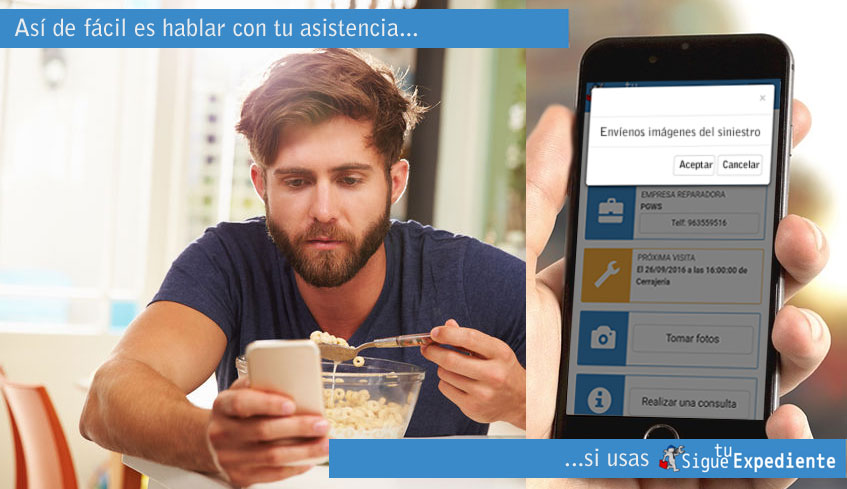 Digitalización asegurados Millennial con Sigue tu Expediente